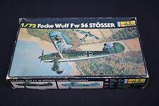 U980 Heller 1/72 maquette avion  Focke wulf Fw56 Stösser N° 238 ancienne boite
