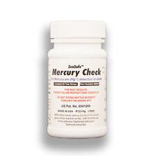 Detección de Mercurio Sensafe Kit de prueba de agua 50 tiras de prueba