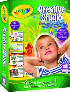 Crayola Creative Studio Core Learning Windows PC Children Kids Digital Art Fun