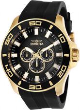 Invicta Men's Pro Diver Quartz 100m Stainless Steel/Black Silicone Watch 28001