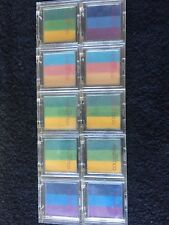 10 Collection 2000 Trio Eyeshadows, Assorted Colours, Brand New