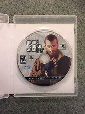 PS3 Grand Theft Auto 4