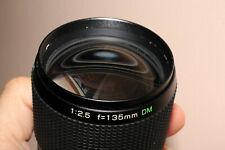 Objectif Fuji EBC 135 mm 2,5 monture Fujica X