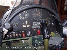 Cockpits Available; P-51 Mustang, F4U Corsair, P-47, F6F Hellcat, F4F Wildcat