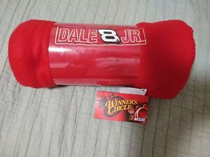 Dale Earnhardt Jr. #8 Nascar Red Throw Blanket Cover