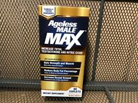 New Vitality Ageless Male Max T Booster 60 Caplets Expires 2022
