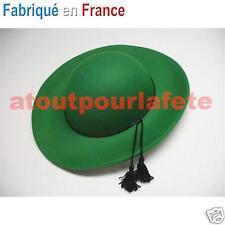 Chapeau vert de Curé,Cardinal,Prelat,Eveque,Religion,Accessoire,Déguisement,fête