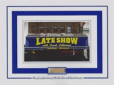 PIECE of SET from THE LATE SHOW WITH DAVID LETTERMAN Ed Sullivan Theater prop
