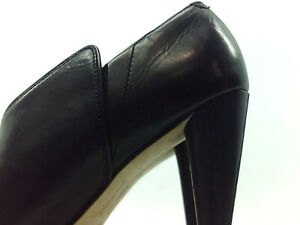 Carolinna Espinosa Womens Toulee Leather Pointed Toe Classic, Black, Size 6.0 yT