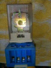 RELPOL 8 Pin 10 AMP 230 VOLT AC RELAY & BASE DIN RAIL MOUNTED PLUG IN