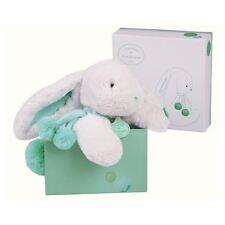 POMPOM PELUCHE coniglio morbido Comforter Doudou Snuggle Cuddle Toy Almond 25 cm