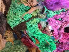1kg Potluck Bag of Washed & Dyed Fleece