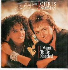 "< 3056-11 > 7"" single: Shari Belafonte & Chris Normann-I want to be needed"