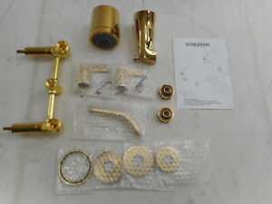 Kingston Brass KBX8142NDL - Nuvo Fusion Tub and Shower Faucet, Polished Brass
