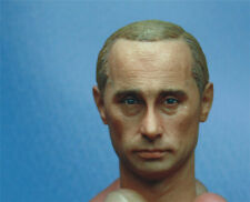 1/6 Russia's President Vladimir Putin Head Sculpt Model Toy For 12'' Male Figure