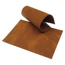 Nobuck cuero trozo Pull Up marrón Grasa cuero bolsillos holster teñido Blank cuero