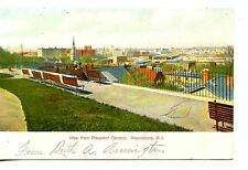 City View from Prospect Terrace Park-Providence-Rhode Island-Vintage Postcard