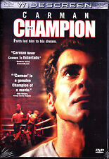 Carman: The Champion (DVD, Widescreen, 2001) Region All New Sealed