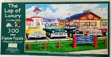 Puzzle 300 pieces The Lap of Luxury Ken Zylla and Kevin Yacht Club Vintage Cars