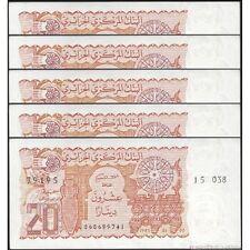 TWN - ALGERIA 133a - 20 Dinars 2/1/1983 UNC DEALERS x 5