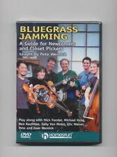 BLUEGRASS JAMMING - GUIDE DVD GUITAR BASS BANJO *NEW*
