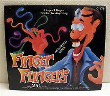 Finger Flingers Old Gumball Vending Machine Toy Sign
