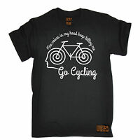 Voices In My Head Go Cycling T-SHIRT tee jersey funny birthday gift present him