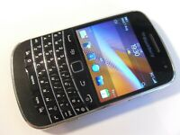 BlackBerry Bold 9900 Touch - 8GB - Black (Unlocked) Smartphone Mobile QWERTY