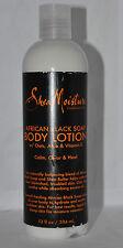 Shea Moisture africano Nero Sapone Gamma Shampoo Balsamo Maschera Esfoliante Lozione Corpo 384ml