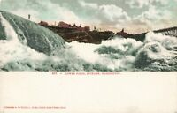 Postcard Lower Falls Spokane Washington
