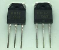 2 silicon transistor - D 1047 + B 817, 200 V, 12 A Q5O1