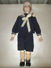 Hans Doll Mold 114 Kammer and Reinhardt Jointed Composition Body Vintage Doll