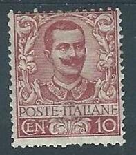 1901 REGNO FLOREALE 10 CENT MH *  - RR2828