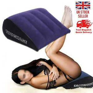 Inflatable sex Triangle Pillow Wedge Furnitur Game Amazing Position Cushion HOT