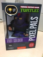 PDP Pixel Pals TMNT Foot Soldier Light-Up, Sealed FREE Shipping!!