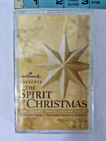 HALLMARK THE SPIRIT OF CHRISTMAS CASSETTE AMY GRANT, VINCE GILL Sealed Holiday