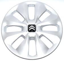 "Citroen C1 (2014 onward) Wheel Trim 15"" Silver Single New Genuine B000880180"