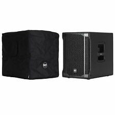 """2 X RCF Sub 705-as II 2800w 15"""" Powered Subwoofer Bass Speaker 3 Year"""