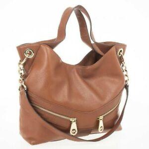 Michael Kors Leather Jamesport Tan Shoulder Tote Bag Authentic designer rrp $549