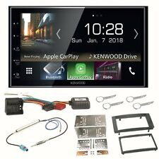 Kenwood DMX-7018DABS Android Auto DAB+ Einbauset für T5 2003-2015 Multivan