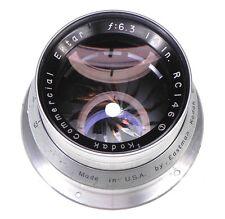 Kodak Commercial Ektar 14in f6.3 Barrel Lens  #RC146