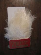 Material de montaje blancos para moscas de pesca