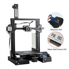 Used Creality Ender 3 Pro 3D Printer 220X220X250mm Mean Well Power DC 24V PLA