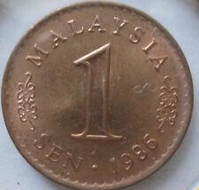 Malaysia 1 sen 1986 coin