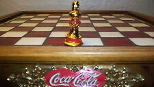 Franklin Mint Coca Cola Chess Set Piece replacement Red Bishop