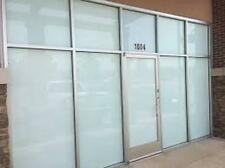 "48"" X 100 Lf Roll Whiteout Window Tint Film Privacy schools,offices,storefron ts"