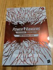 Hasbro PulseCon Power Rangers Lightning Collection Lord Drakkon Evo Iii In Hand