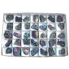 wholesale Lot 35pcs Titanium Amethyst Rainbow Color 1-1.5inch Each Size