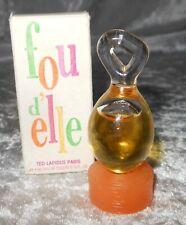 Collectors mini parfum - Ted Lapidus Fou d,elle  + box 4  ml