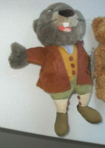 Vintage Rare Titan Toys 1995 Wind In The Willows Beaver Hand Glove Puppet